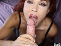 Redhead busty Cougar knows how to blow | DaGFs Discount