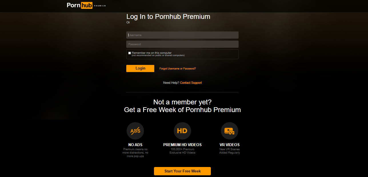 Premium account pornhub Pornhub Premium