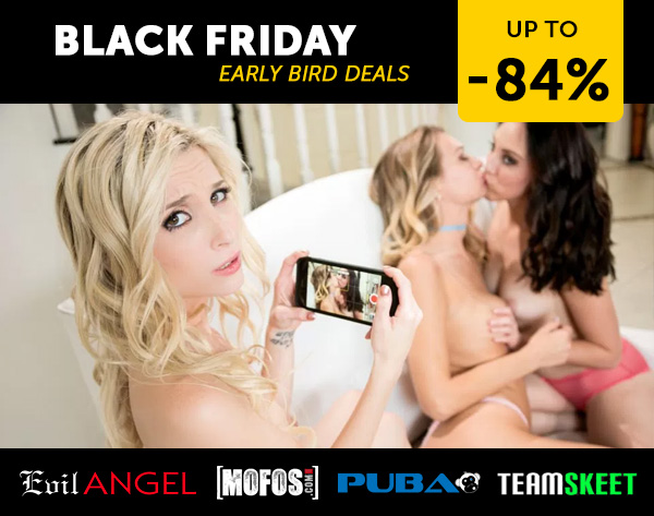 Porndeals: Early Bird Black Friday Porn Deals