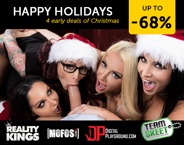 Porndeals: Early Christmas Porn Deals 2018