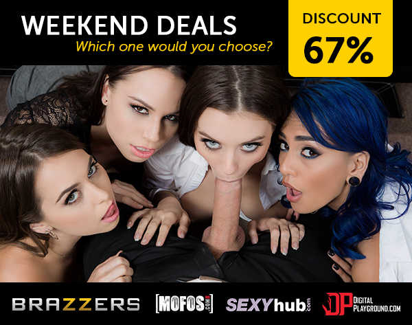 Porndeals: Weekend Porn Discounts - Brazzers, Mofos, Digital Playground, and SexyHub